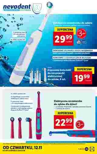 Lidl - gazetka promocyjna ważna od 09.11.2020 do 14.11.2020 - strona 45.