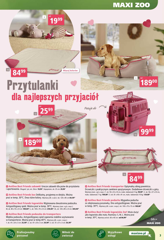 Maxi ZOO - gazetka promocyjna ważna od 05.02.2020 do 11.02.2020 - strona 3.