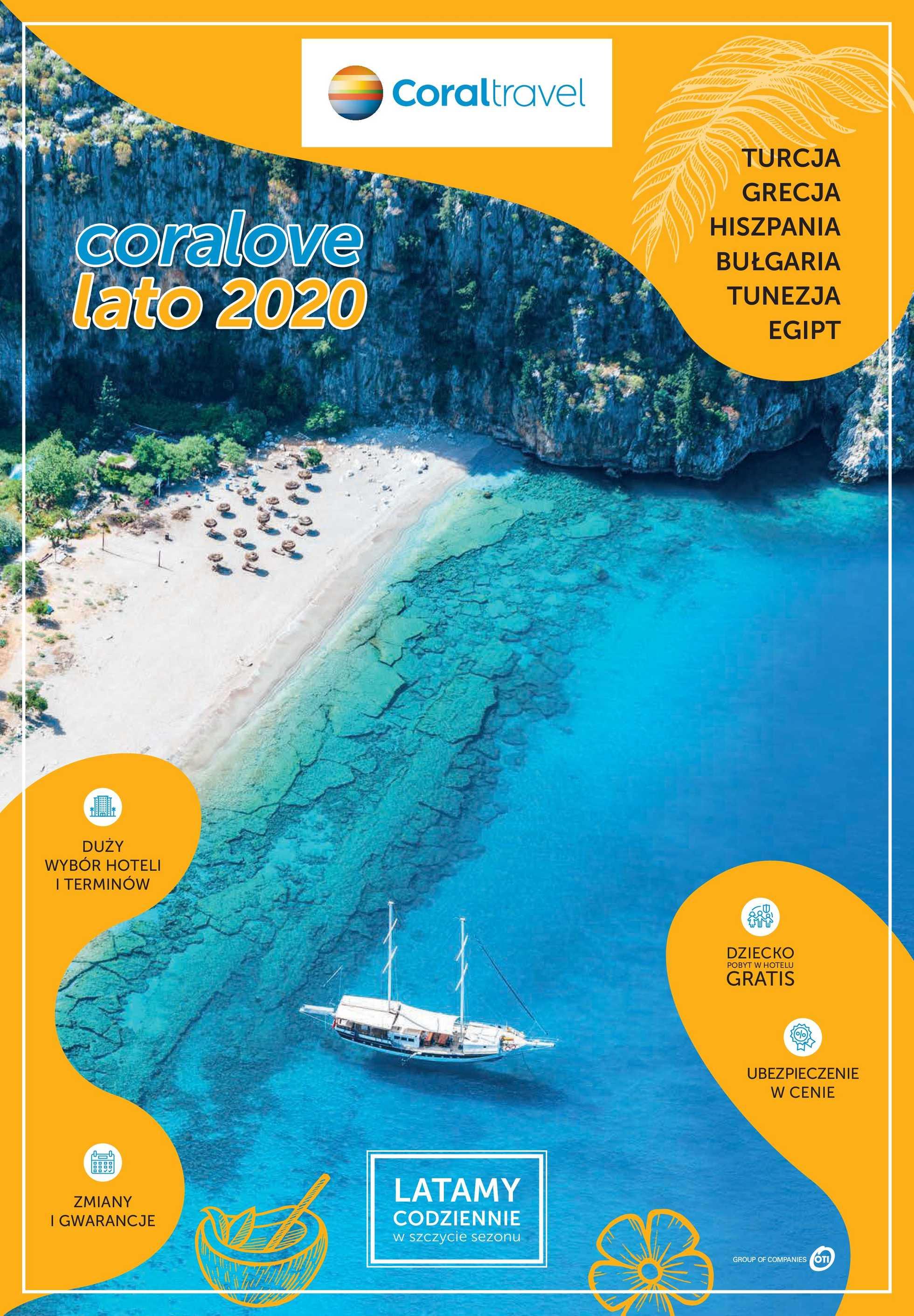Coral Travel - gazetka promocyjna ważna od 14.11.2019 do 31.03.2020 - strona 1.