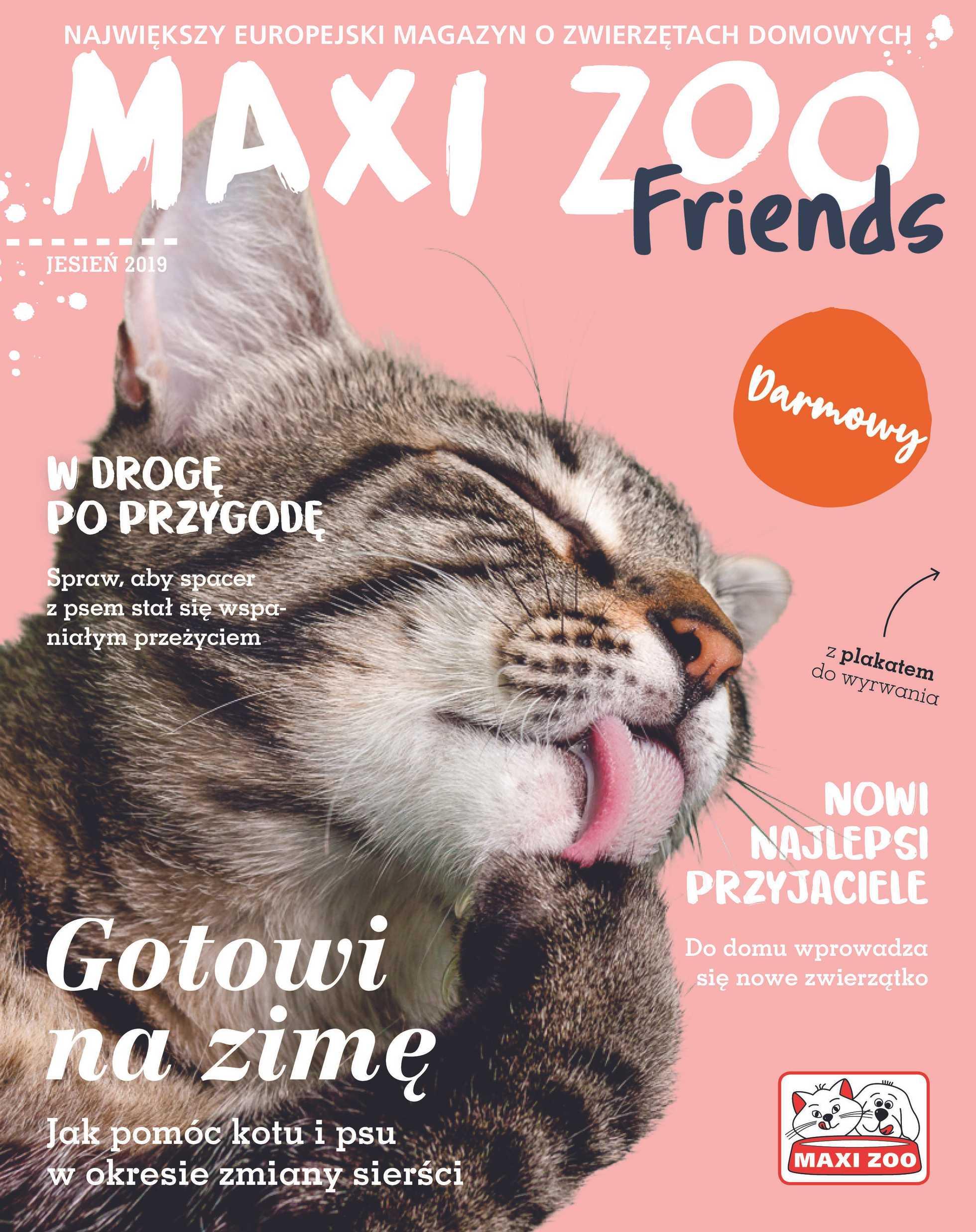 Maxi ZOO - gazetka promocyjna ważna od 23.09.2019 do 22.12.2019 - strona 1.