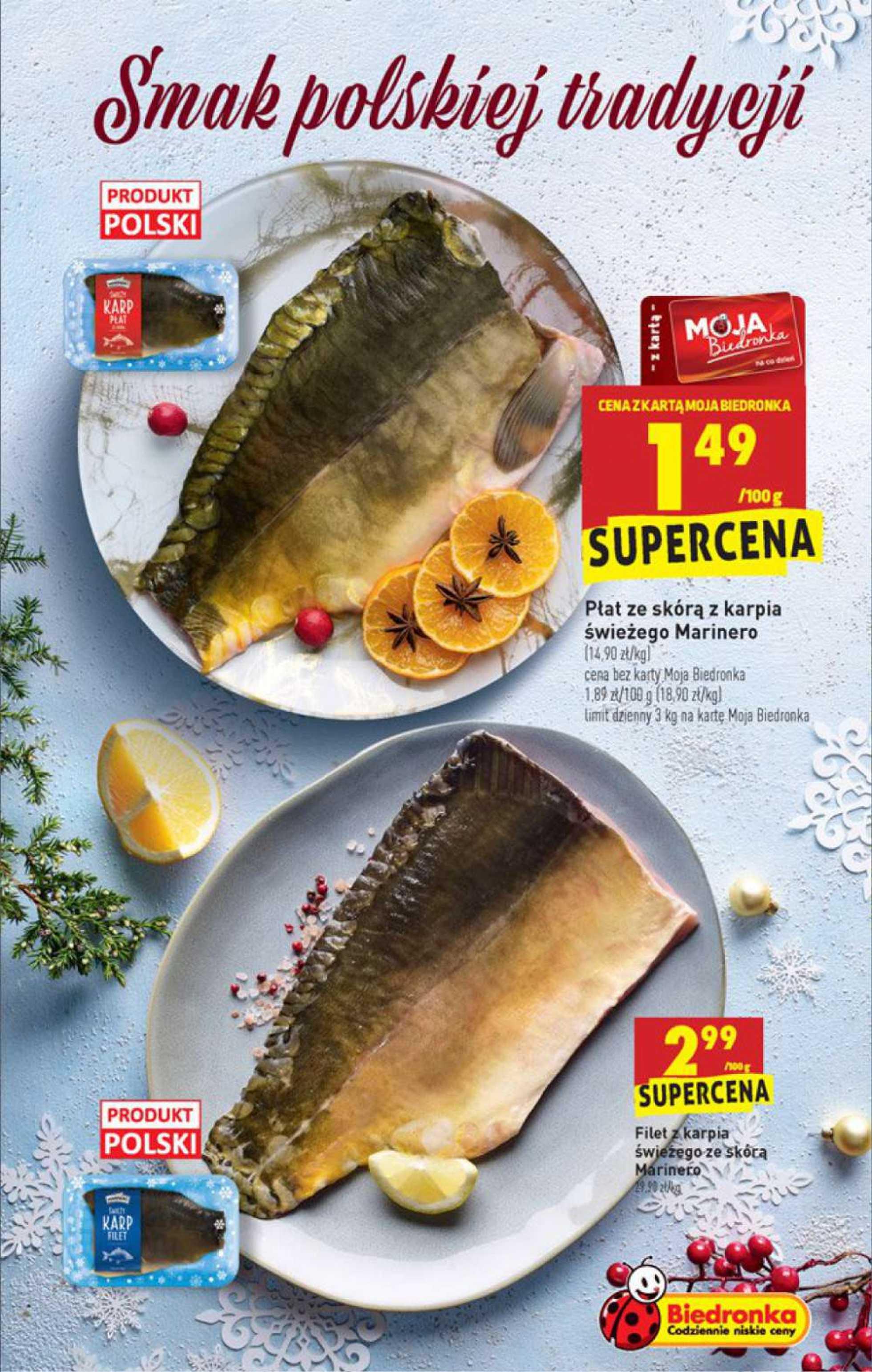 Biedronka - gazetka promocyjna ważna od 21.12.2020 do 24.12.2020 - strona 3.