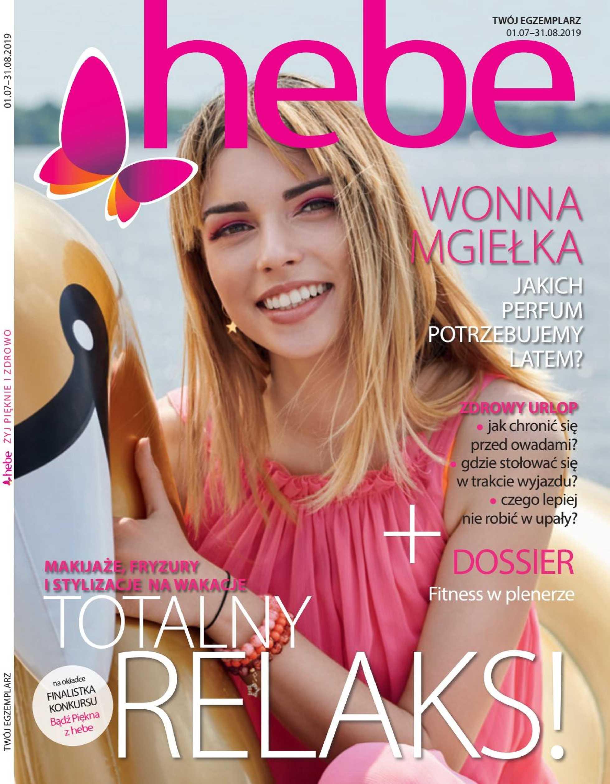 Hebe - gazetka promocyjna ważna od 01.07.2019 do 31.08.2019 - strona 1.
