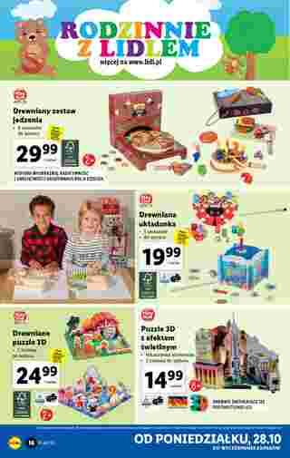 Lidl - gazetka promocyjna ważna od 28.10.2019 do 02.11.2019 - strona 16.