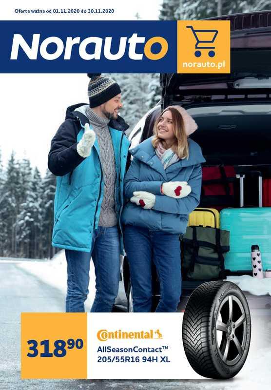 Norauto - gazetka promocyjna ważna od 01.11.2020 do 30.11.2020 - strona 1.