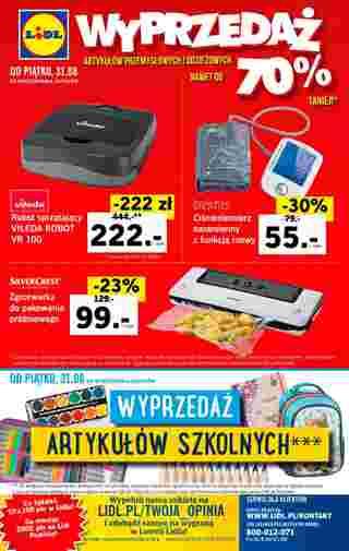 Lidl - gazetka promocyjna ważna od 27.08.2018 do 29.08.2018 - strona 40.