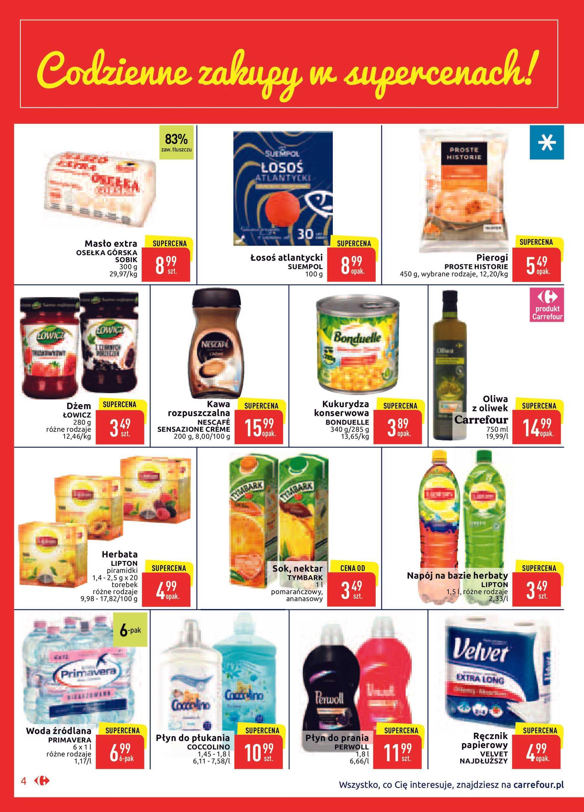 Carrefour Market - gazetka promocyjna ważna od 21.01.2020 do 01.02.2020 - strona 4.