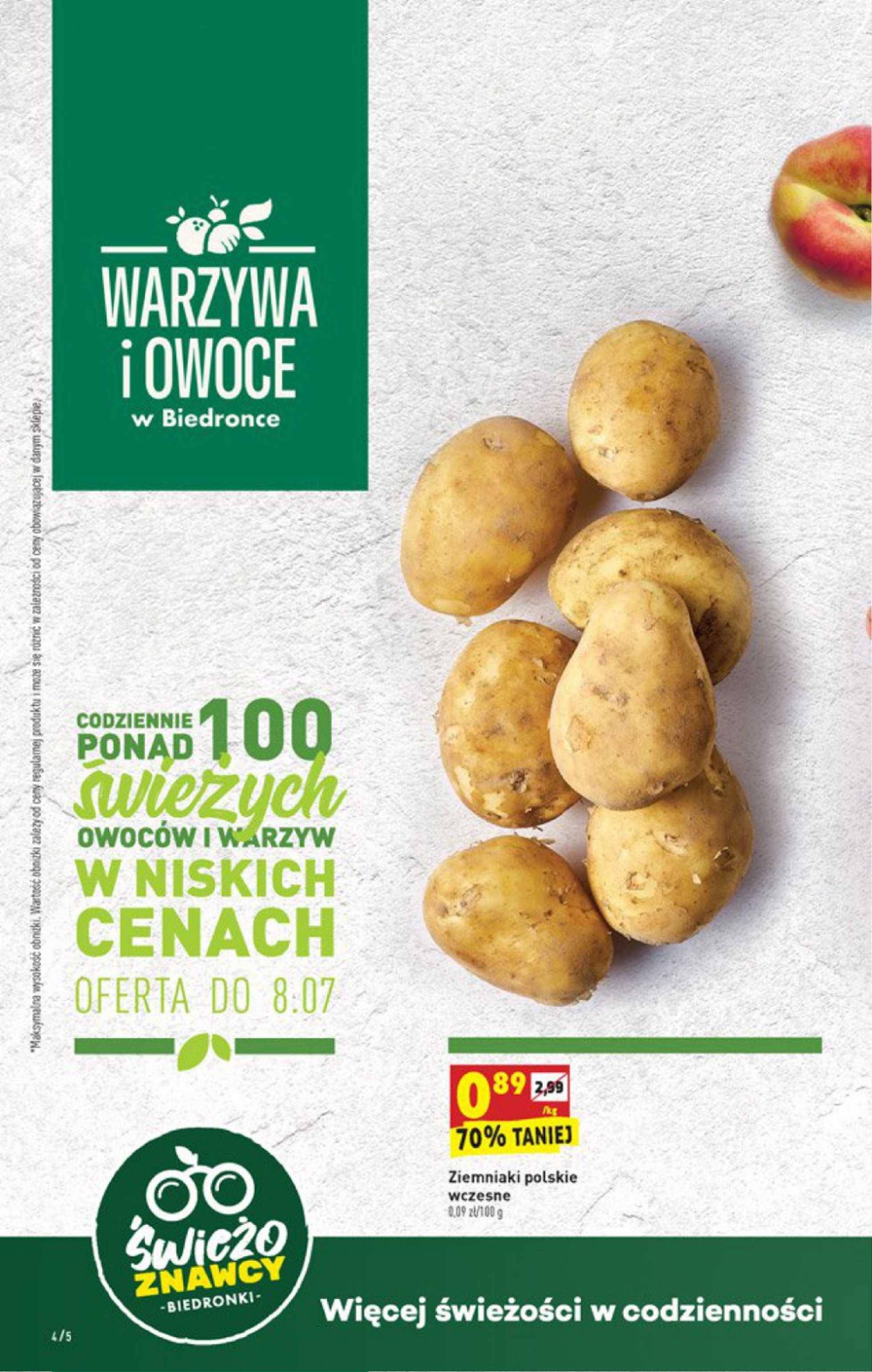 Biedronka - gazetka promocyjna ważna od 06.07.2020 do 11.07.2020 - strona 4.