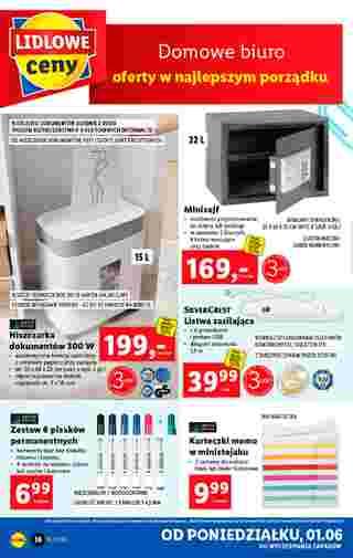 Lidl - gazetka promocyjna ważna od 01.06.2020 do 06.06.2020 - strona 10.