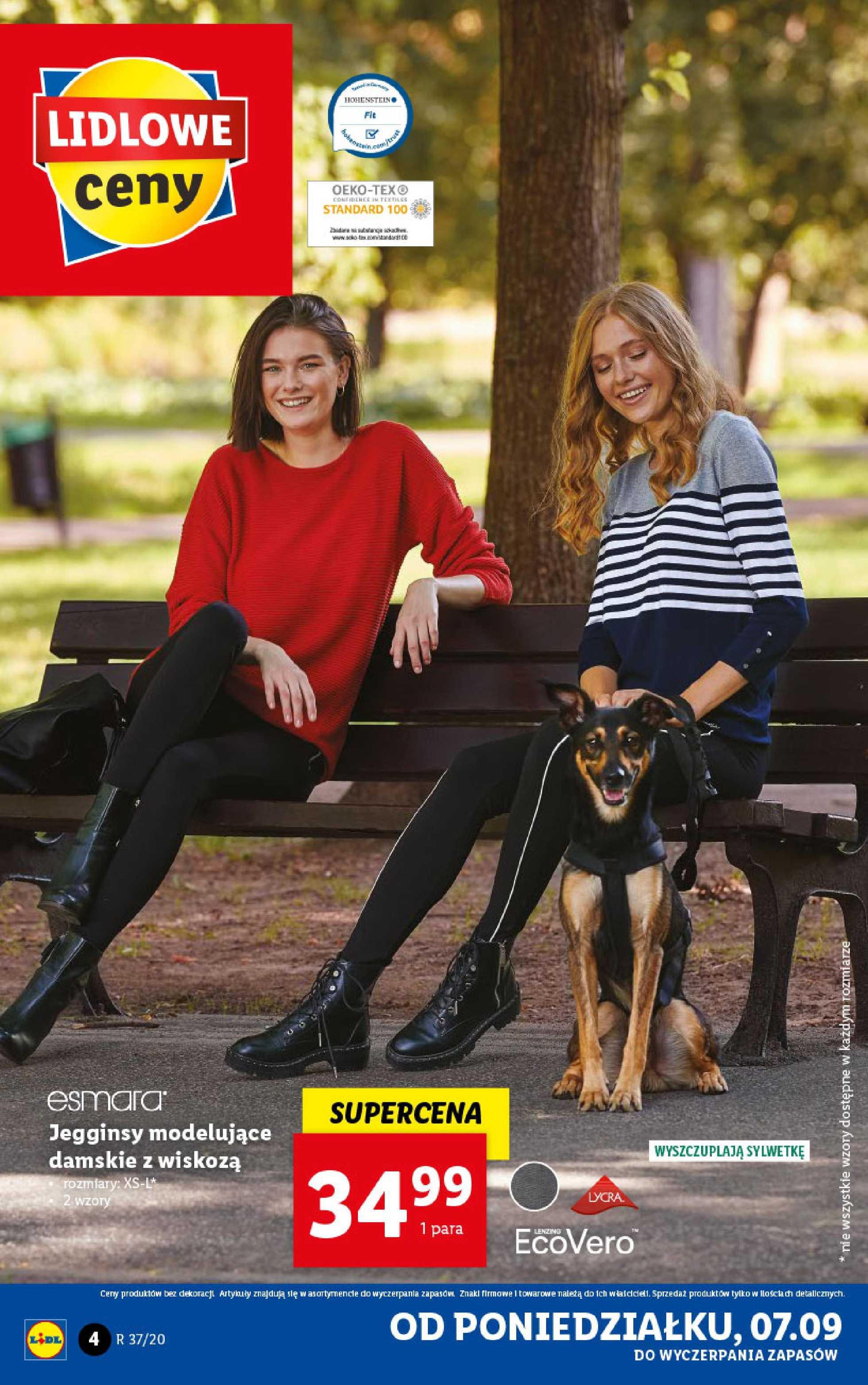Lidl - gazetka promocyjna ważna od 07.09.2020 do 12.09.2020 - strona 4.