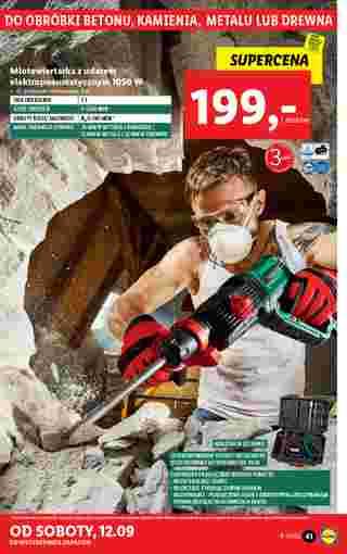 Lidl - gazetka promocyjna ważna od 07.09.2020 do 12.09.2020 - strona 41.