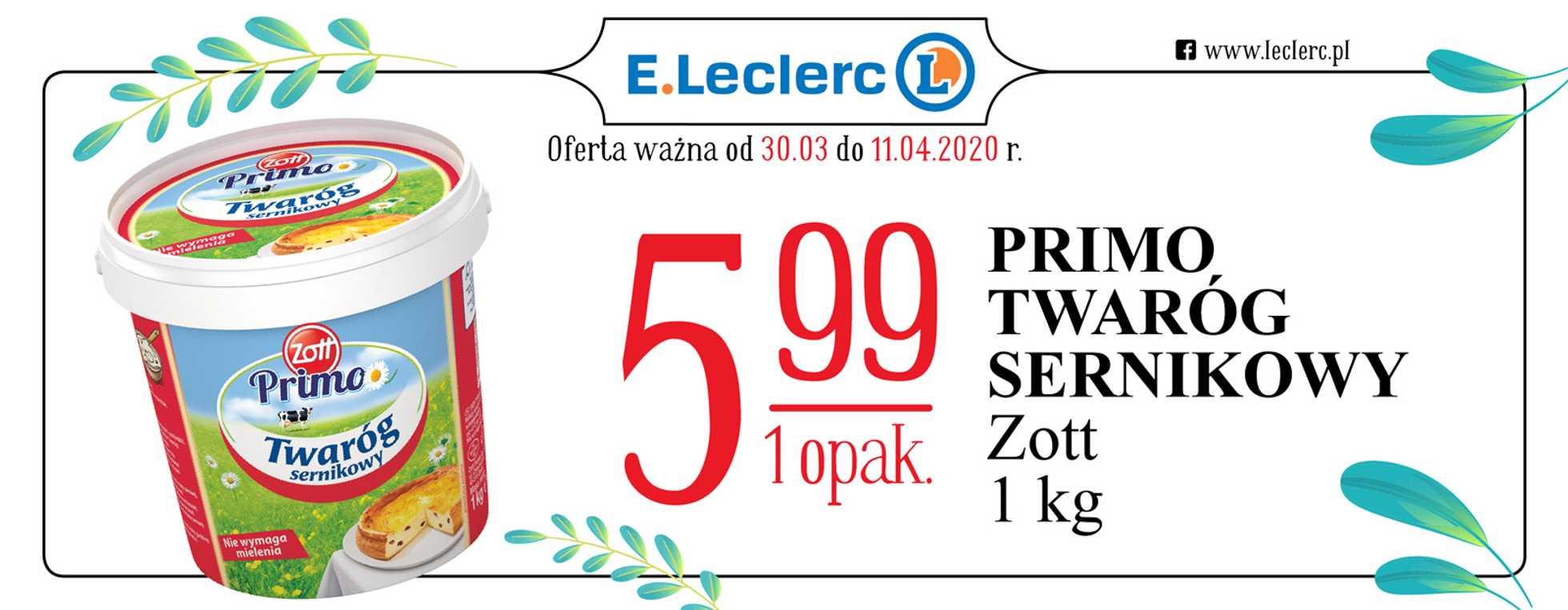 E.Leclerc - gazetka promocyjna ważna od 30.03.2020 do 11.04.2020 - strona 2.