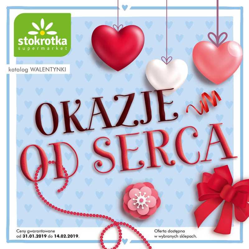 Stokrotka - gazetka promocyjna ważna od 31.01.2019 do 14.02.2019 - strona 1.