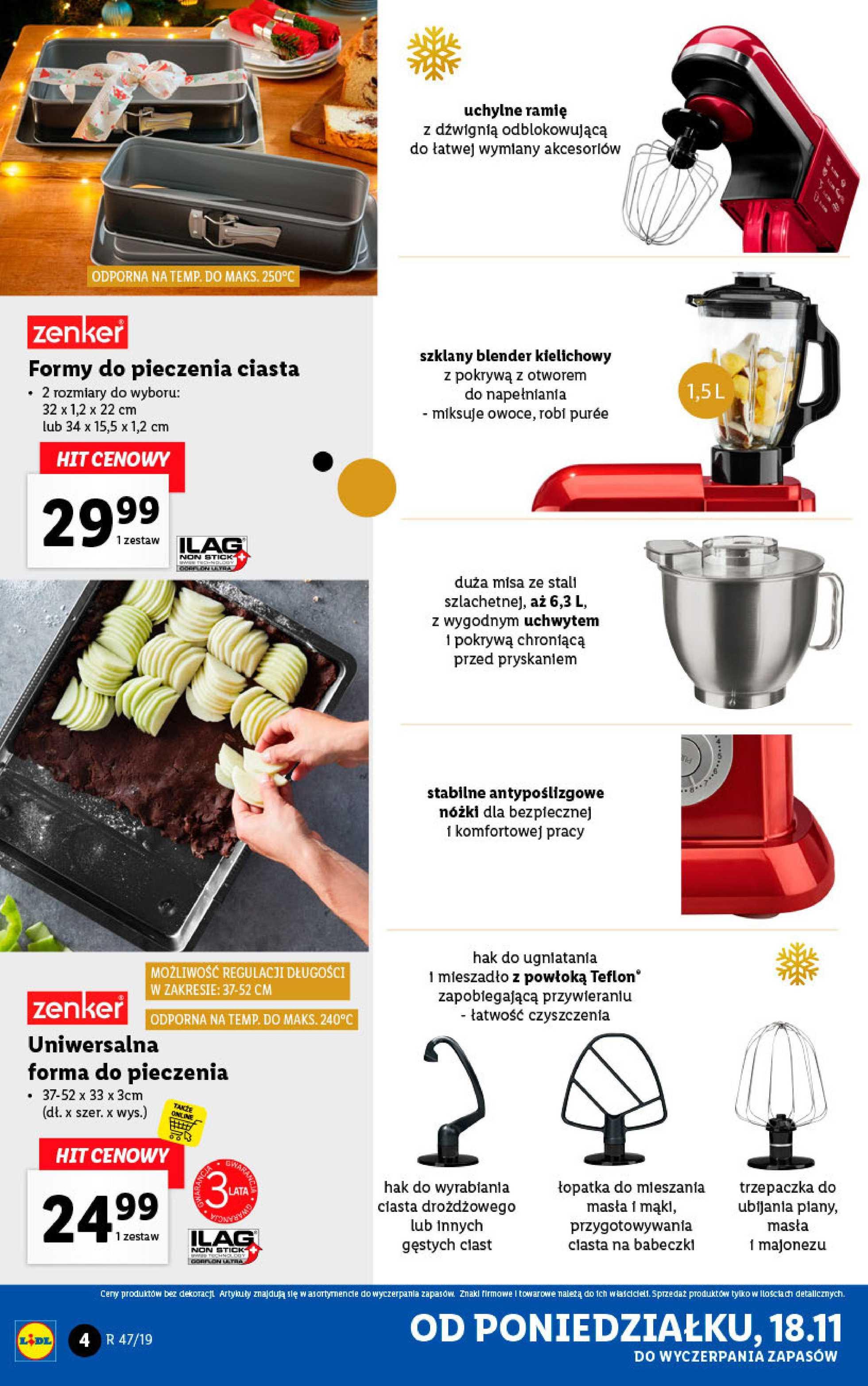 Lidl - gazetka promocyjna ważna od 18.11.2019 do 24.11.2019 - strona 4.