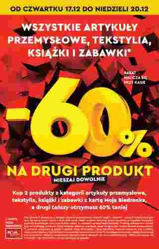 Biedronka - gazetka promocyjna ważna od 17.12.2020 do 24.12.2020 - strona 72.