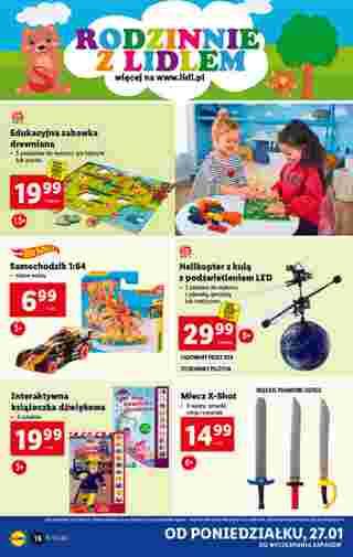 Lidl - gazetka promocyjna ważna od 27.01.2020 do 01.02.2020 - strona 16.