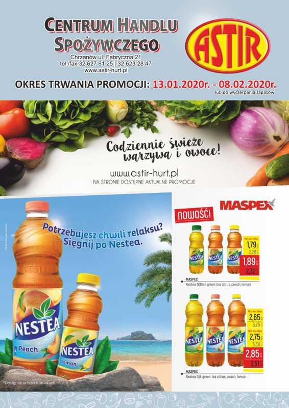 Astir - gazetka promocyjna ważna od 13.01.2020 do 08.02.2020 - strona 1.