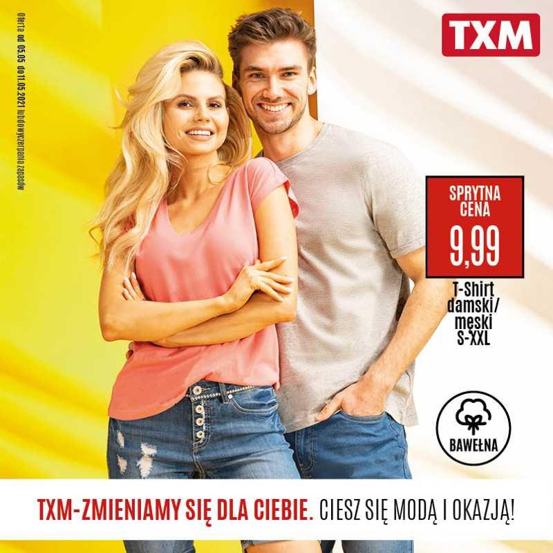 TXM Textilmarket - gazetka promocyjna ważna od 05.05.2021 do 11.05.2021 - strona 1.