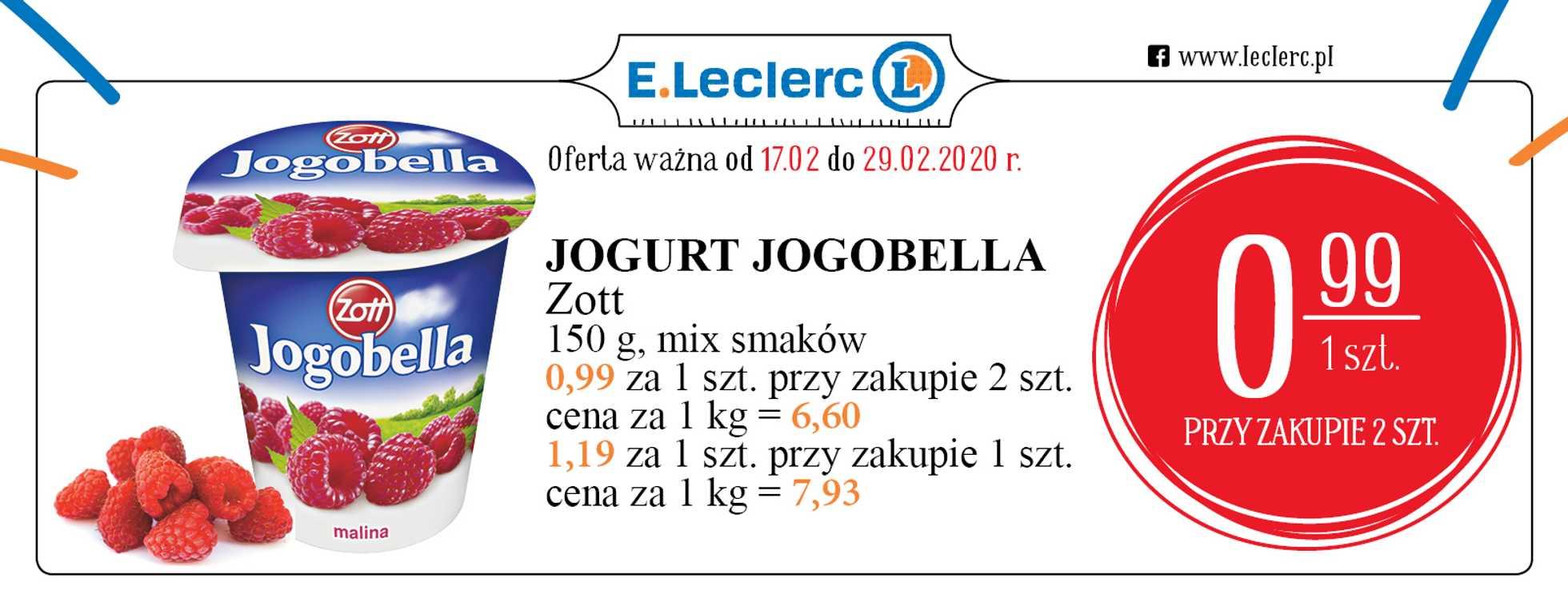 E.Leclerc - gazetka promocyjna ważna od 17.02.2020 do 29.02.2020 - strona 1.
