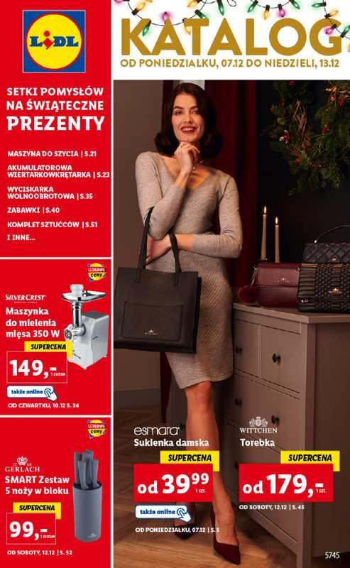 Lidl - gazetka promocyjna ważna od 07.12.2020 do 13.12.2020 - strona 1.
