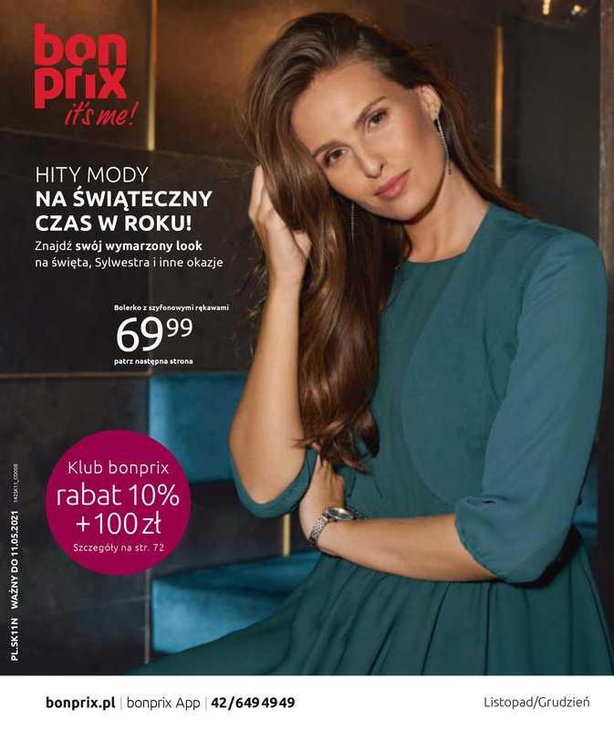 Bonprix - gazetka promocyjna ważna od 12.11.2020 do 11.05.2021 - strona 1.