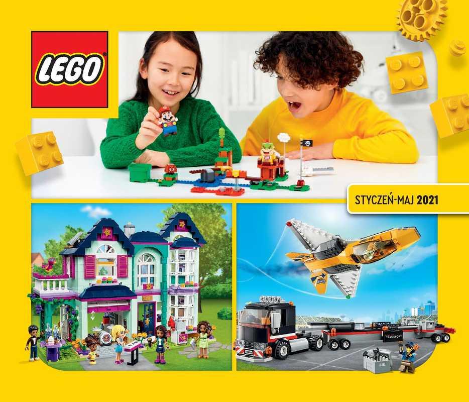 Lego - gazetka promocyjna ważna od 01.01.2021 do 31.05.2021 - strona 1.