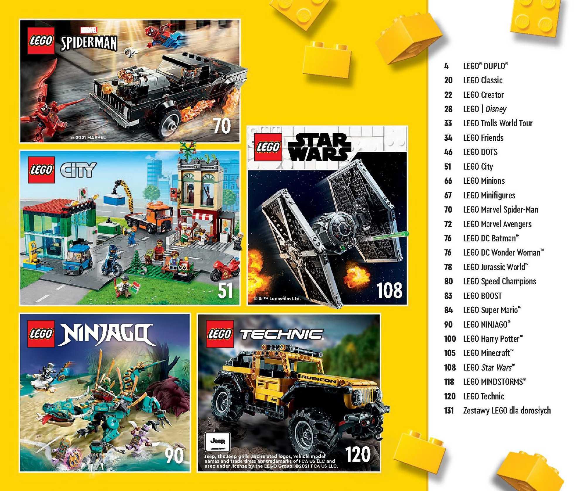 Lego - gazetka promocyjna ważna od 01.01.2021 do 31.05.2021 - strona 3.