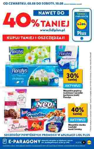 Lidl - gazetka promocyjna ważna od 08.08.2019 do 10.08.2019 - strona 9.