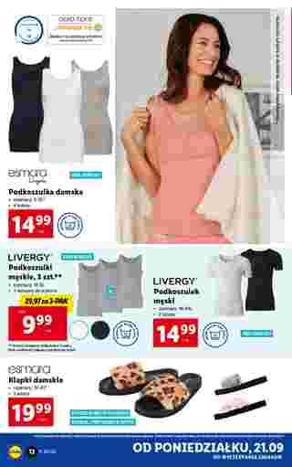 Lidl - gazetka promocyjna ważna od 21.09.2020 do 26.09.2020 - strona 12.