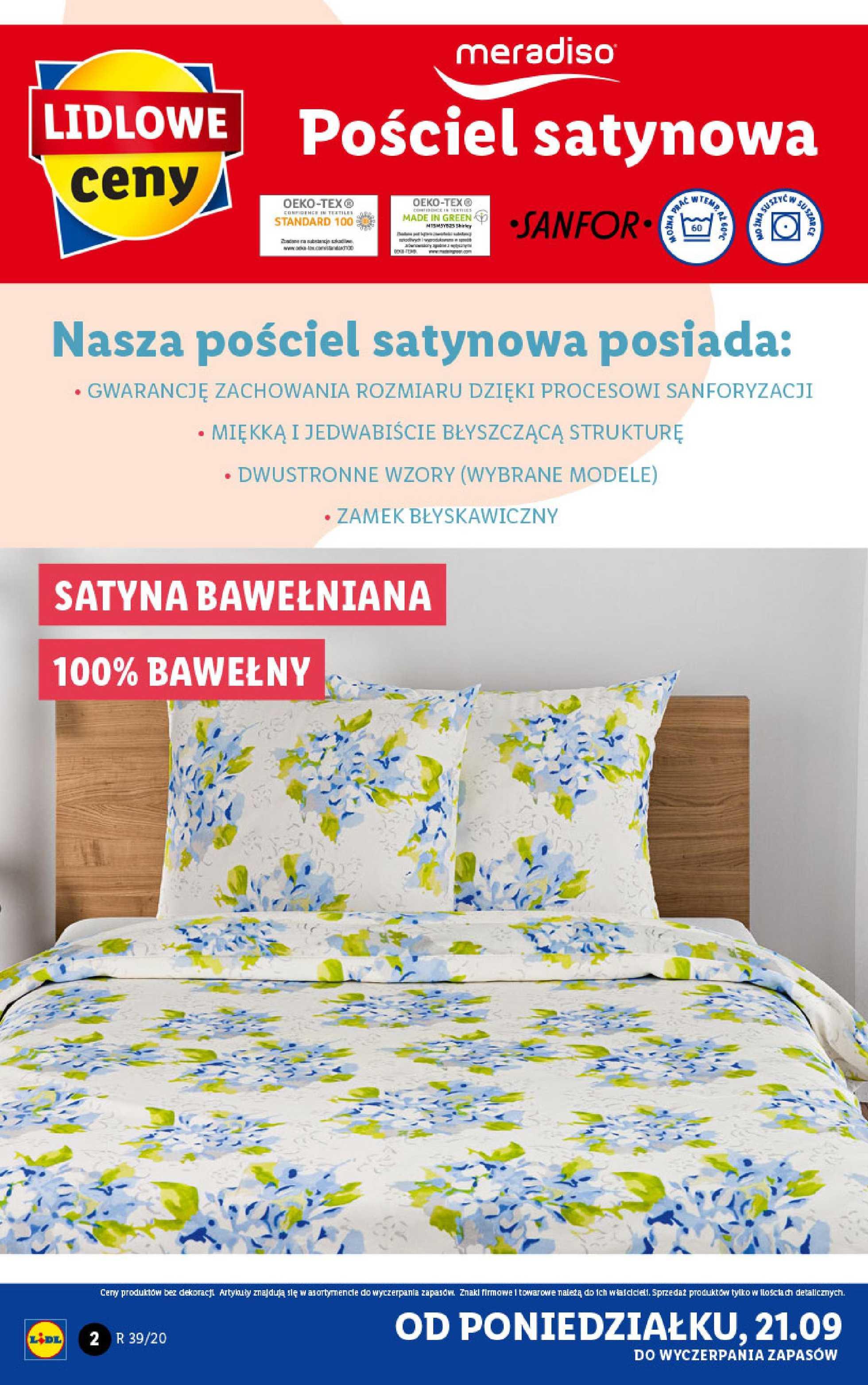 Lidl - gazetka promocyjna ważna od 21.09.2020 do 26.09.2020 - strona 2.