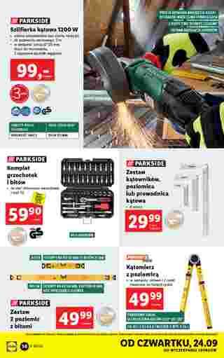 Lidl - gazetka promocyjna ważna od 21.09.2020 do 26.09.2020 - strona 36.