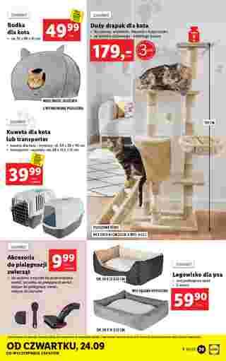 Lidl - gazetka promocyjna ważna od 21.09.2020 do 26.09.2020 - strona 39.