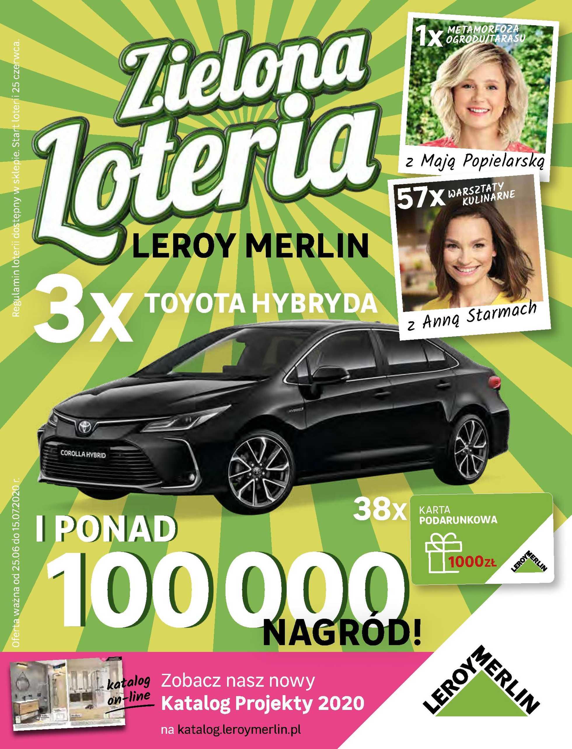 Leroy Merlin - gazetka promocyjna ważna od 25.06.2020 do 15.07.2020 - strona 1.