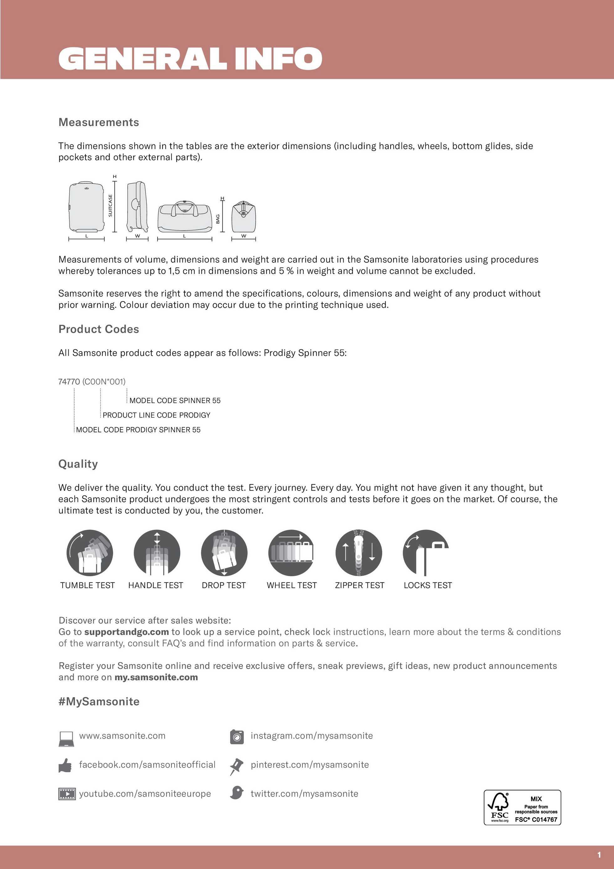 Samsonite - gazetka promocyjna ważna od 01.03.2020 do 31.12.2020 - strona 3.
