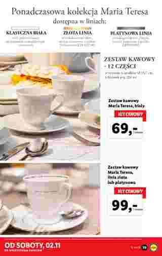 Lidl - gazetka promocyjna ważna od 28.10.2019 do 02.11.2019 - strona 39.