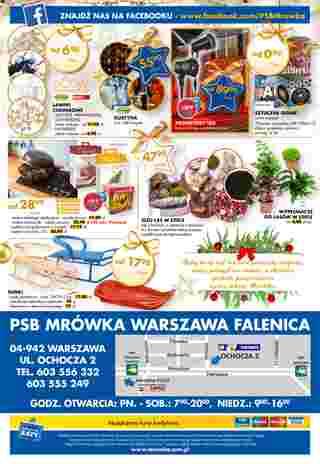 PSB Mrówka - gazetka promocyjna ważna od 29.11.2019 do 15.12.2019 - strona 12.