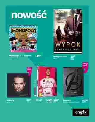 Empik - gazetka promocyjna ważna od 18.09.2019 do 01.10.2019 - strona 96.