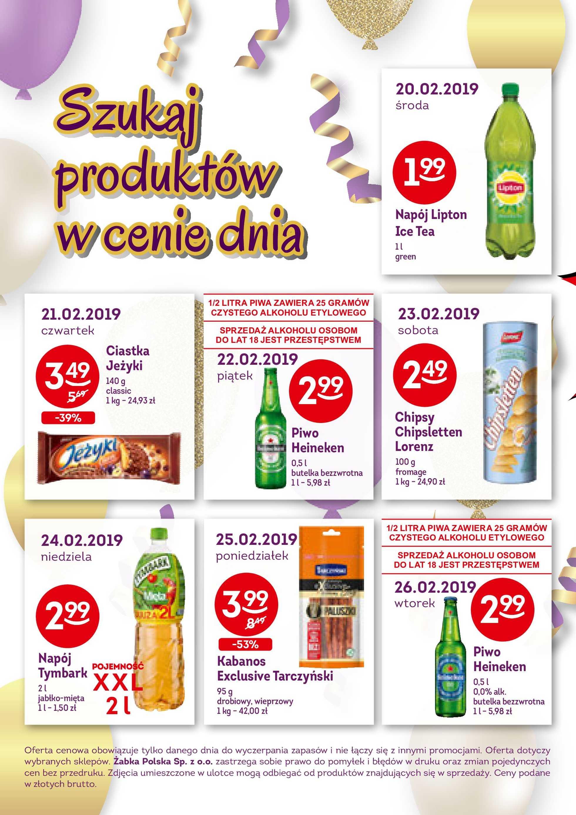 Żabka - gazetka promocyjna ważna od 13.02.2019 do 26.02.2019 - strona 2.