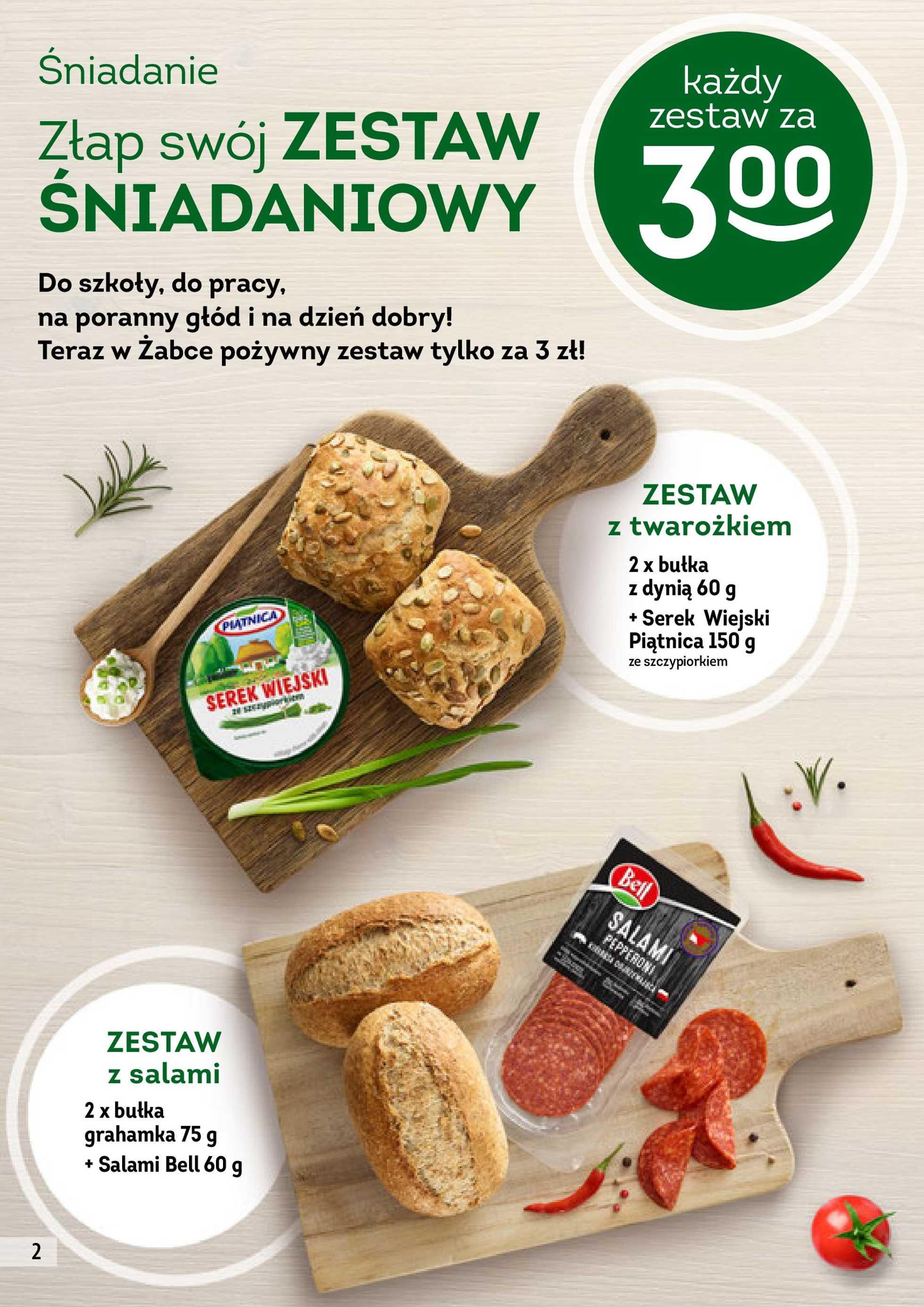 Żabka - gazetka promocyjna ważna od 30.01.2019 do 12.02.2019 - strona 2.