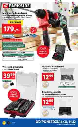 Lidl - gazetka promocyjna ważna od 14.12.2020 do 20.12.2020 - strona 14.