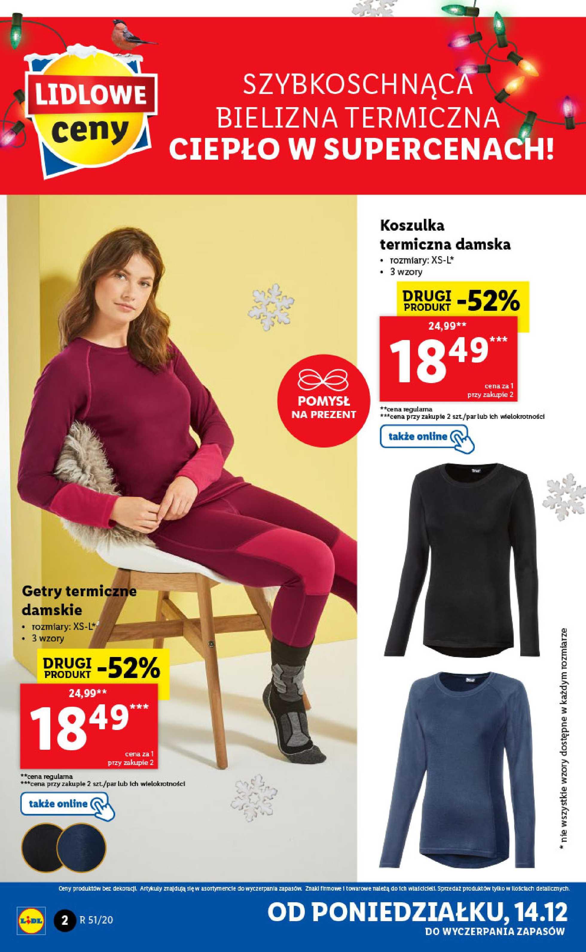 Lidl - gazetka promocyjna ważna od 14.12.2020 do 20.12.2020 - strona 2.