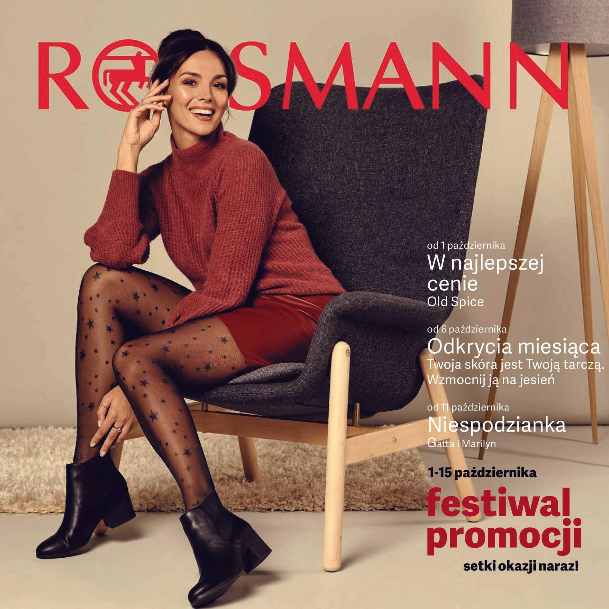 Rossmann - gazetka promocyjna ważna od 01.10.2019 do 15.10.2019 - strona 1.