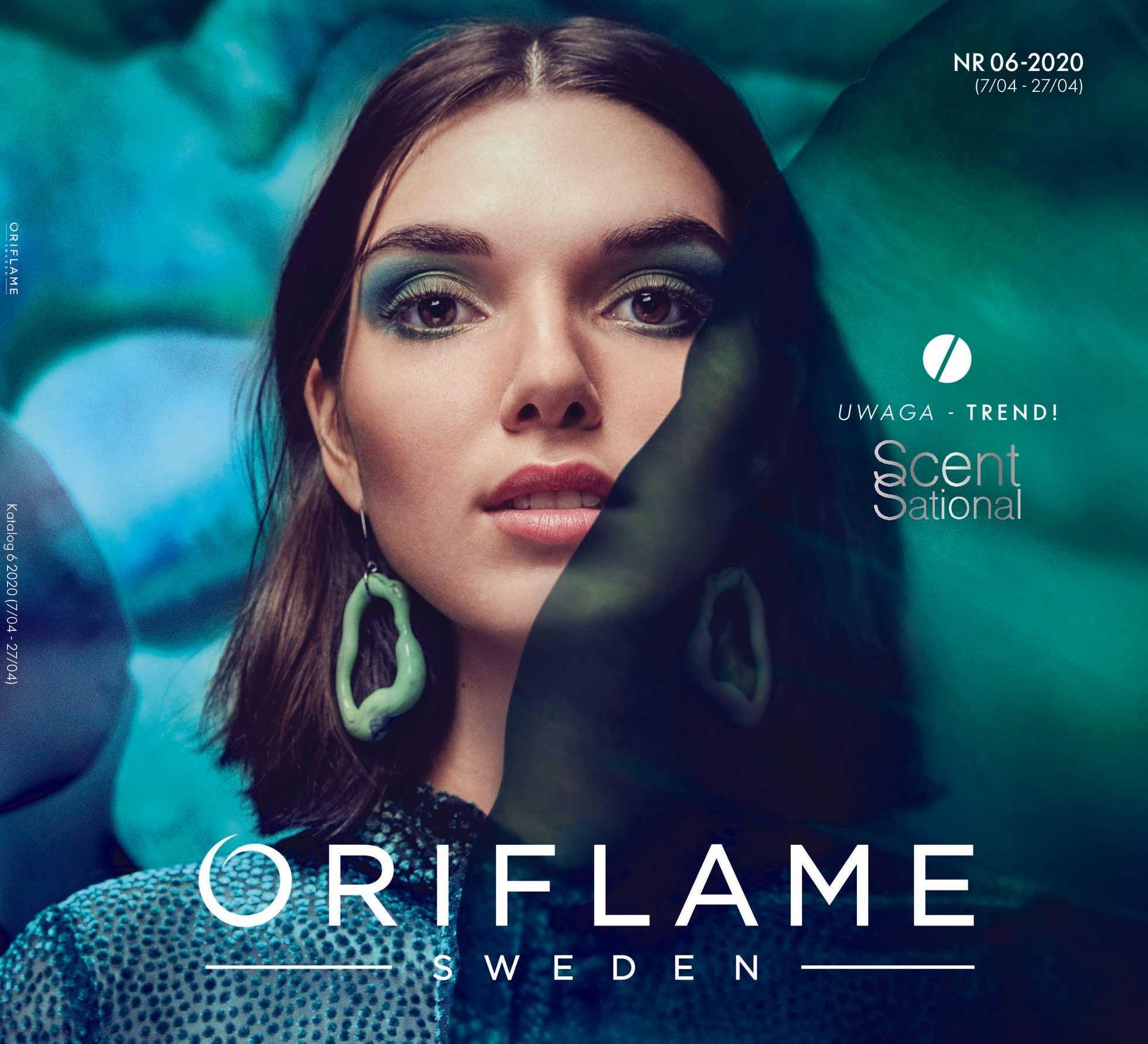 Oriflame - gazetka promocyjna ważna od 07.04.2020 do 27.04.2020 - strona 1.