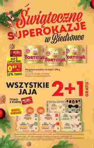 Biedronka - gazetka promocyjna ważna od 21.12.2020 do 24.12.2020 - strona 6.