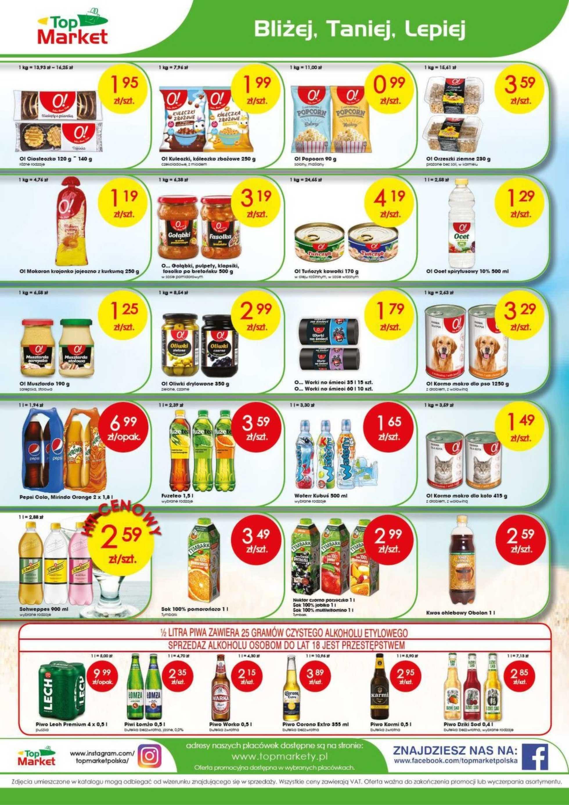 Top Market - gazetka promocyjna ważna od 05.08.2019 do 10.08.2019 - strona 4.