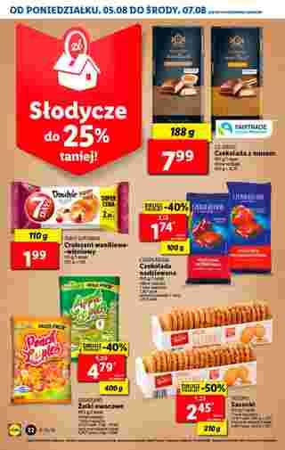 Lidl - gazetka promocyjna ważna od 05.08.2019 do 07.08.2019 - strona 22.