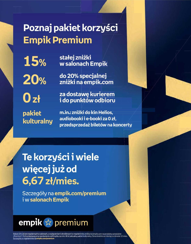 Empik - gazetka promocyjna ważna od 02.10.2019 do 15.10.2019 - strona 3.
