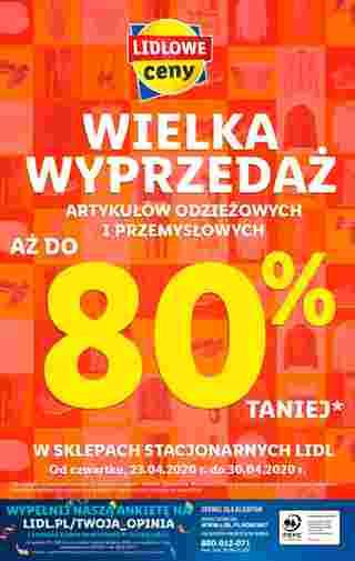 Lidl - gazetka promocyjna ważna od 27.04.2020 do 29.04.2020 - strona 56.