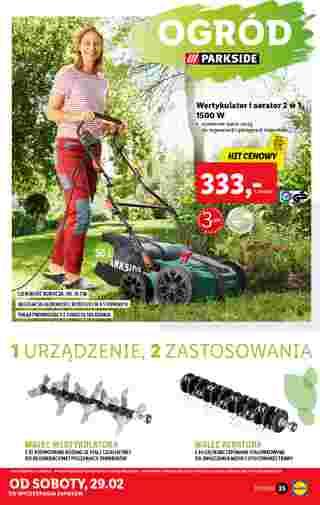 Lidl - gazetka promocyjna ważna od 24.02.2020 do 29.02.2020 - strona 33.
