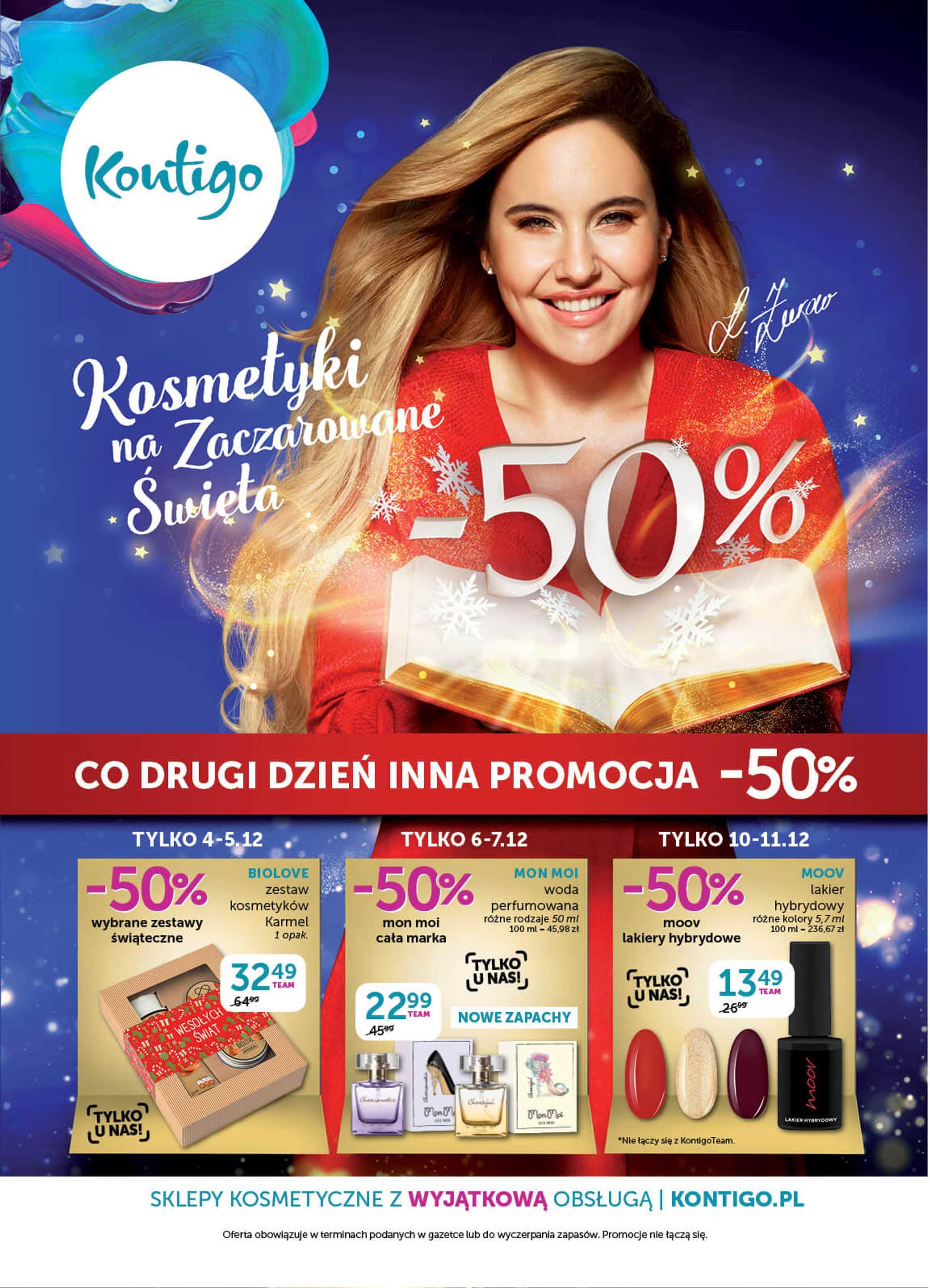 Kontigo - gazetka promocyjna ważna od 04.12.2019 do 15.12.2019 - strona 1.