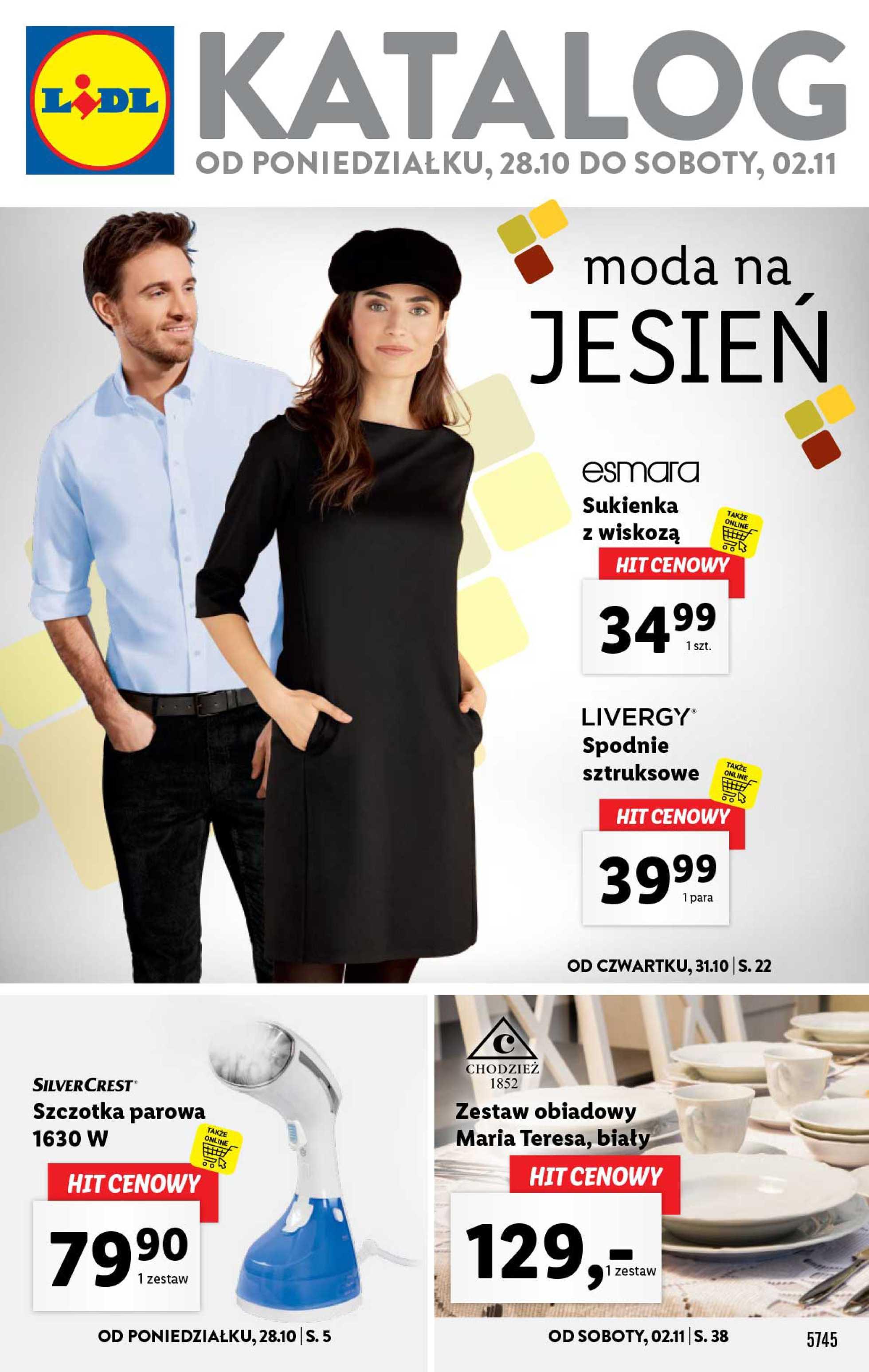 Lidl - gazetka promocyjna ważna od 28.10.2019 do 02.11.2019 - strona 1.